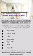 Why Shade of White Wedding Dress Perfect? PowerPoint PPT Presentation