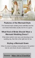 A Stunning Silhouette Options in Mermaid Wedding Dresses For Brides PowerPoint PPT Presentation