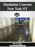 Manhattan Concrete New York NY PowerPoint PPT Presentation