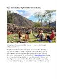 Yoga Retreats Peru PowerPoint PPT Presentation