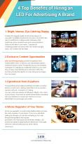 4 Top Benefits of Hiring an LED For Advertising A Brand PowerPoint PPT Presentation