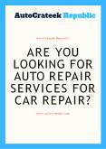 Are You Looking for Auto Repair Services For Car Repair? PowerPoint PPT Presentation