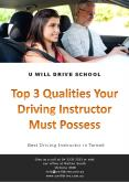 Top 3 Qualities Your Driving Instructor Must Possess - U Will Drive School PowerPoint PPT Presentation