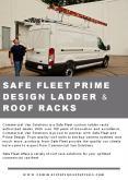 Safe Fleet Prime Design Ladder & Roof Racks PowerPoint PPT Presentation