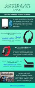 All in one bluetooth accessories for your gadget PowerPoint PPT Presentation