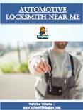 Automotive Locksmith Near Me PowerPoint PPT Presentation