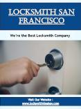Locksmith San Francisco PowerPoint PPT Presentation
