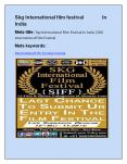 Top International Film Festival in India |SKG International Film Festival (1) PowerPoint PPT Presentation