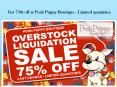Get 75% off at Posh Puppy Boutique - Limited quantities PowerPoint PPT Presentation