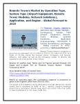 Remote Towers Market by Operation Type, System Type (Airport Equipment, Remote Tower Modules, Network Solutions), Application, and Region - Global Forecast to 2025 PowerPoint PPT Presentation