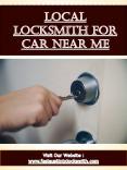 Local Locksmith For Car Near Me PowerPoint PPT Presentation