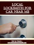 Local Locksmith For Car Near Me (1) PowerPoint PPT Presentation