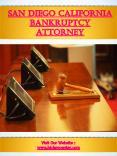 San Diego California Bankruptcy Attorney PowerPoint PPT Presentation
