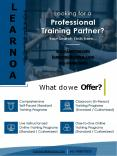 Learnoa Corporate Brochure compressed PowerPoint PPT Presentation