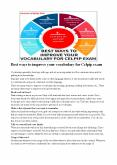Best ways to improve your vocabulary for Celpip exam PowerPoint PPT Presentation