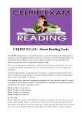 CELPIP EXAM : About Reading Tasks PowerPoint PPT Presentation
