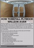 How To Install Plywood Walls In a van PowerPoint PPT Presentation