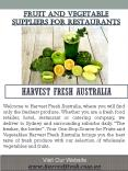 Fruit and Vegetable Suppliers for Restaurants PowerPoint PPT Presentation