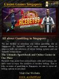 Casino Games Singapore PowerPoint PPT Presentation