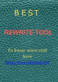 rewrite tool PowerPoint PPT Presentation