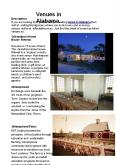 Venues in Alabama PowerPoint PPT Presentation