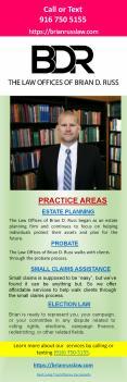 Best Living Trust Attorney Sacramento near me -  www.brianrusslaw.com PowerPoint PPT Presentation