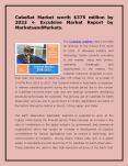 CubeSat Market worth $375 million by 2023  Exculsive Market Report by MarketsandMarkets. PowerPoint PPT Presentation