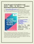 Inertial Navigation System Market worth $12.26 billion by 2022  Exclusive Market Report by Markets and Markets PowerPoint PPT Presentation