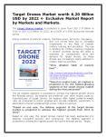 Target Drones Market worth 6.20 Billion USD by 2022 PowerPoint PPT Presentation