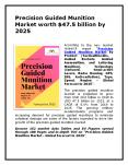 Precision Guided Munition Market worth $47.5 billion by 2025. PowerPoint PPT Presentation