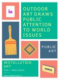 Outdoor Art Draws Public Attention to World Issues PowerPoint PPT Presentation