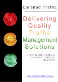 Construct Traffic - Delivering Quality Traffic Management Solutions PowerPoint PPT Presentation