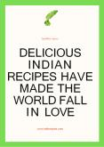 Delicious Indian Recipes Have Made The World Fall In Love PowerPoint PPT Presentation