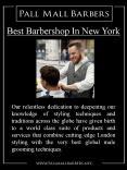 Best Barbershop In New York PowerPoint PPT Presentation