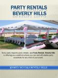 Get Amazing New Equipment for Your Event at Party Rentals Beverly Hills PowerPoint PPT Presentation