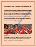 Teej Festival in Jaipur – The Vibrant Celebration in Pink City PowerPoint PPT Presentation
