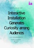 Interactive Installation Generates Curiosity among Audiences PowerPoint PPT Presentation