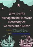Why Traffic Management Plans Are Necessary At Construction Sites? PowerPoint PPT Presentation