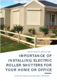 Importance of Installing Electric Roller Shutters for Your Home or Office PowerPoint PPT Presentation
