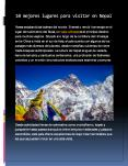 10 mejores lugares para visitar en Nepal PowerPoint PPT Presentation