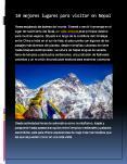 10 mejores lugares para visitar en Nepal (1) PowerPoint PPT Presentation