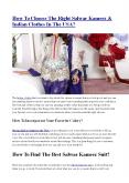How To Choose The Right Salwar Kameez & Indian Clothes In The USA?