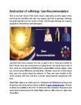 Destruction of sufferings Gem Recommendation PowerPoint PPT Presentation