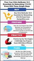 Citrix Certified Professional - Networking 1Y0-351 Exam Dumps PowerPoint PPT Presentation