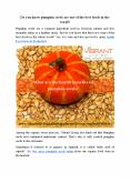 What are the health benefits of pumpkin seeds? PowerPoint PPT Presentation