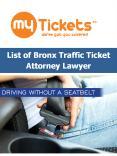 List of Bronx Traffic Ticket Attorney Lawyer PowerPoint PPT Presentation
