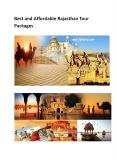 Rajasthan Tour Packages PowerPoint PPT Presentation