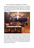 What is the importance of restaurant interior design? PowerPoint PPT Presentation