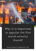 Importance of Hiring Fire watch security Guard in California - Citiguard PowerPoint PPT Presentation