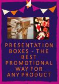 Presentation Boxes - The Best Promotional Way for Any Product PowerPoint PPT Presentation